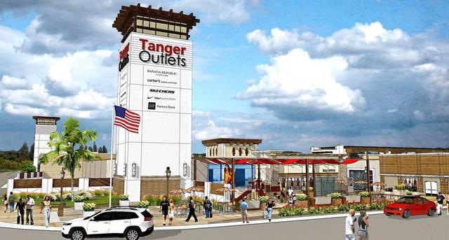 1- Tanger Outlets Tower Rendering