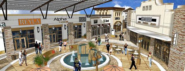 2- Tanger Outlets Fountain Rendering
